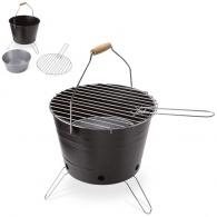 Mini barbecue personnalisable seau