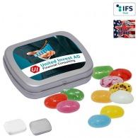 Mini boîte à pastilles avec American Jelly Beans