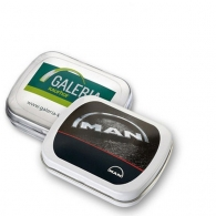 Mini boîte à pastilles, chewing gum Swiss Gum