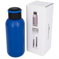 Mini bouteille isotherme personnalisée cuivrée