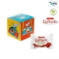 Mini-cube publicitaire avec Raffaello