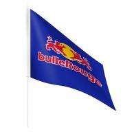 Mini drapeau publicitaire en tissu a6