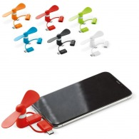 Mini ventilateur publicitaire smartphone