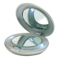 Miroir logoté cosmétique de poche