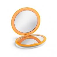 Miroir publicitaire de maquillage