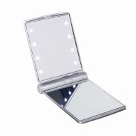 Miroir de poche logoté lumineux