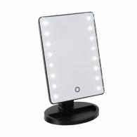 Miroir lumineux logoté tactile