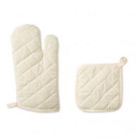Mitty - set gant et manique en coton