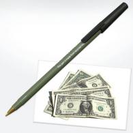 Money - stylo recyclé publicitaire