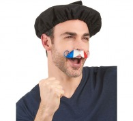 Moustache tricolore france