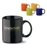 Mug classique bicolore ou noir 30cl