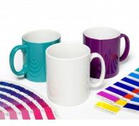 Mug couleur sur-mesure en céramique