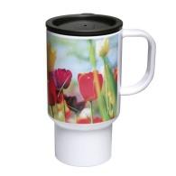 Mug de voyage 400ml imprimé en quadri (photo)