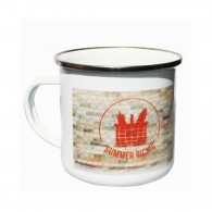 Enamelled mug - express 48h
