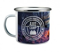 Mug métal émaillé avec impression photo - Quart