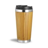 Taza isotérmica 40cl Bambú
