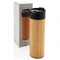 Mug isotherme publicitaire bambou
