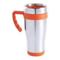 Mug isotherme personnalisé basique avec anse
