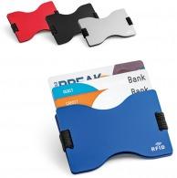 Porte-cartes anti-RFID métallique