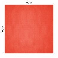 Nappe personnalisée en papier coloré 100x100cm