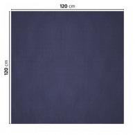 Nappe logotée en papier coloré 120x120cm