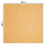 Nappe personnalisable en papier coloré 80x80cm