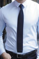 Cravate personnalisable en maille Theo