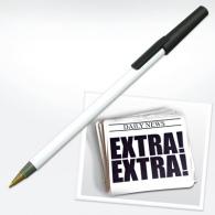 Newspaper - stylo recyclé publicitaire