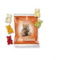 Bonbons oursons ou nounours gélifiés personnalisé