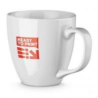 Grand mug logoté blanc 40cl