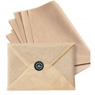 Papier d'emballage naturel 70x50cm