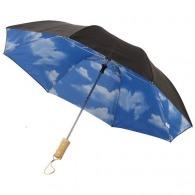 Parapluie personnalisé automatique 2 sections 21