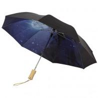 Parapluie publicitaire automatique 2 sections 21