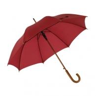 Parapluie personnalisable automatique en bois avec manche