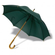 Parapluie publicitaire automatique en nylon avec poignée bois