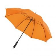 Parapluie golf avec étui smartphone et poignée gomme