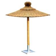 parasol en paille publicitaire parasol en paille personnalis avec logo. Black Bedroom Furniture Sets. Home Design Ideas