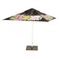 Parasol personnalisable carré 3,5m