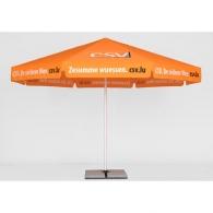 Parasol personnalisé rond 4m
