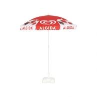 Parasol publicitaire rond 1,8m