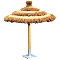 parasol en paille. Black Bedroom Furniture Sets. Home Design Ideas
