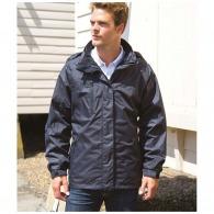 Parka personnalisée avec veste intérieure en softshell (néoprène)