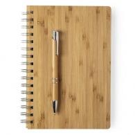 Parure bambou stylo et carnet