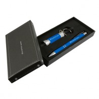 Pen and lamp set with eraser touch