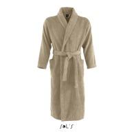 Peignoir logoté col kimono couleurs 400 grs sol's - palace - 89100c