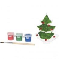 Décorations et objets de Noël avec logo