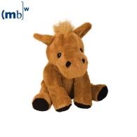 Peluche animal du zoo cheval personnalisé Claudia