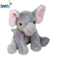 Peluche animal du zoo éléphant publicitaire Linus