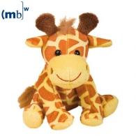 Peluche animal du zoo girafe personnalisable Gaby