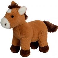 Peluche logotée cheval.